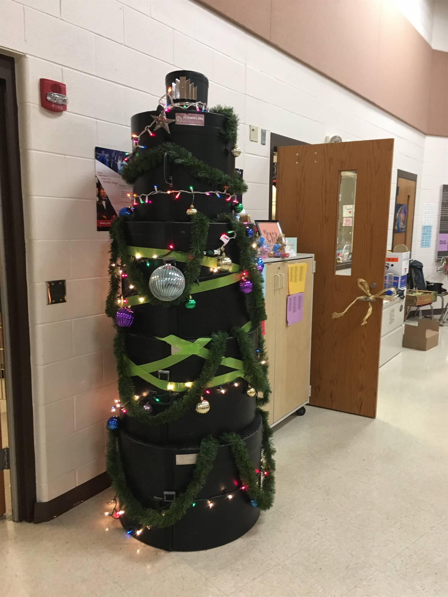 Holidays in the band room